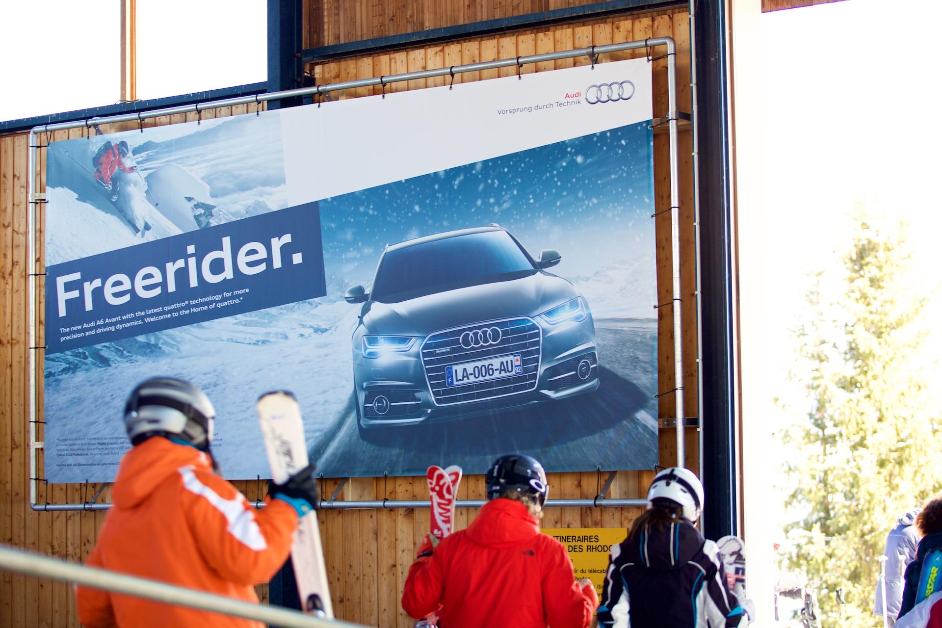 Audi Media Campaign Avoriaz