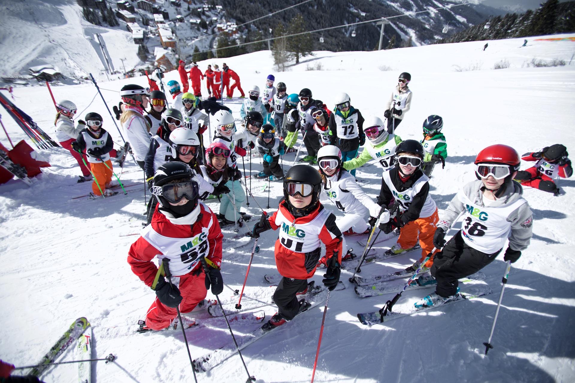 M&G Ski School Slalom Competition