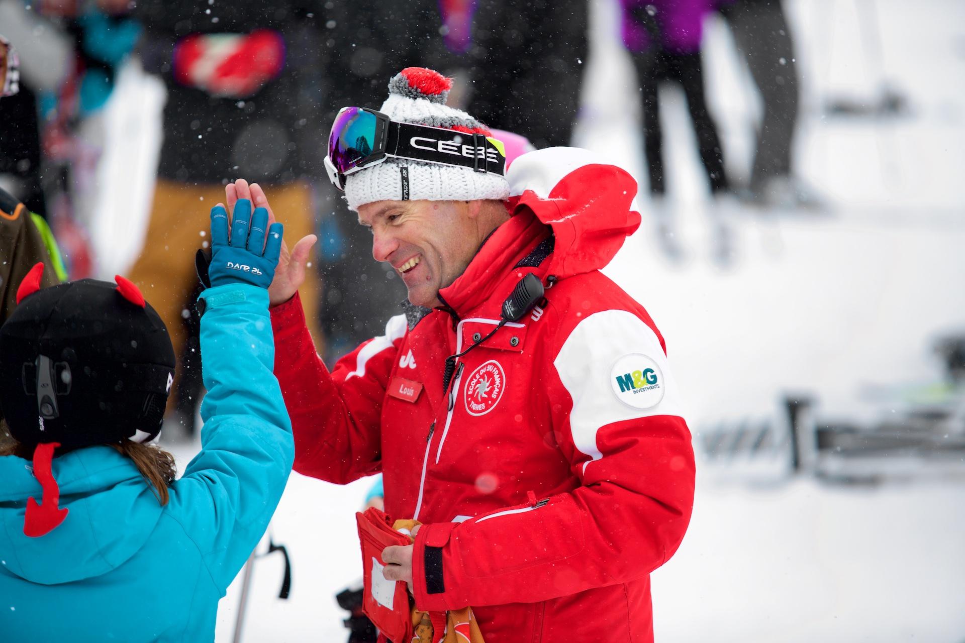 M&G Ski Instructor Badge Tignes