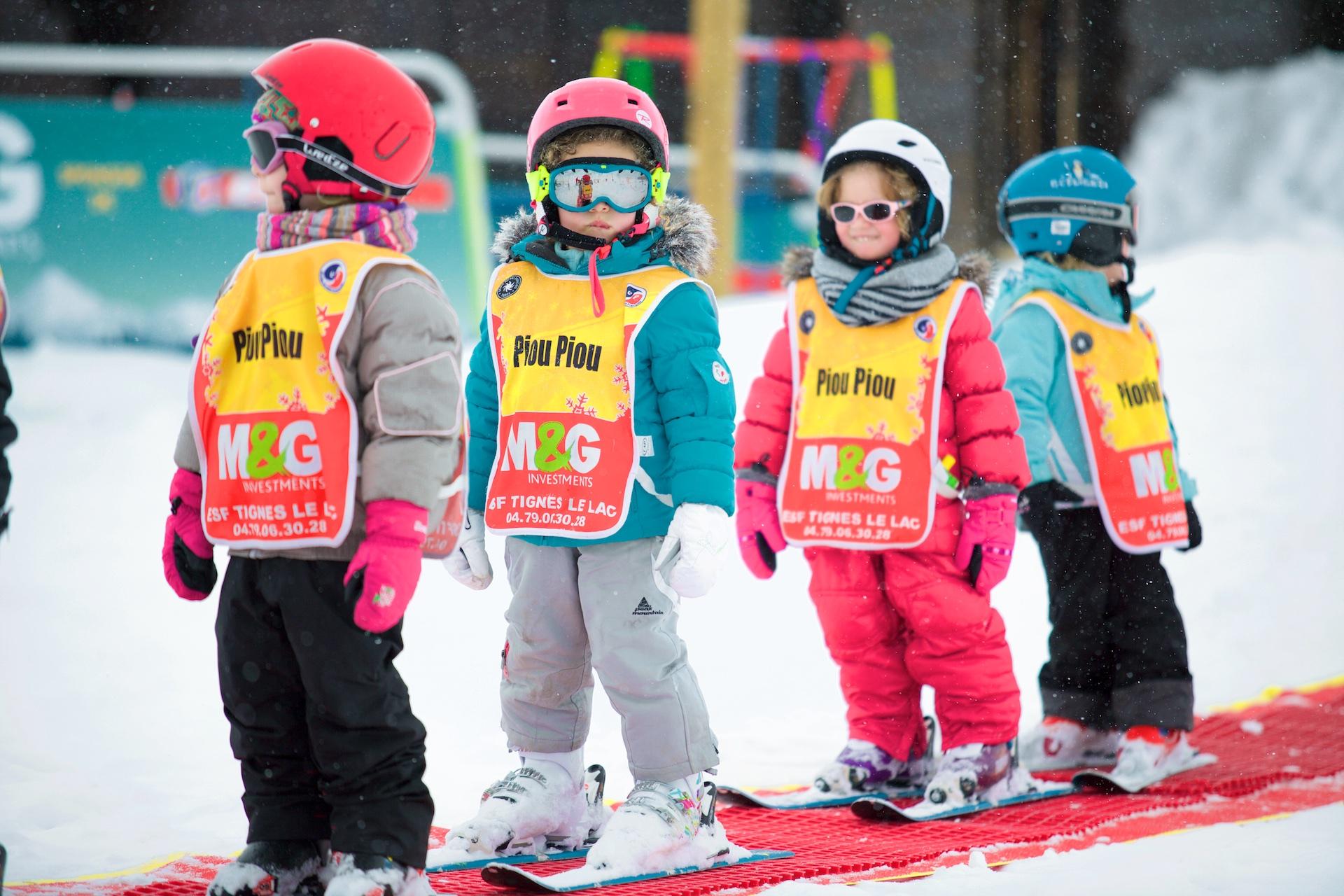 M&G Kids Ski School Tignes